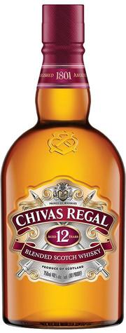 Чивас Ригал 12 лет 0,375л