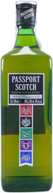 Пасспорт Скотч 0,5л