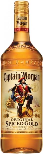 Капитан Морган Пряный Золотой 1л