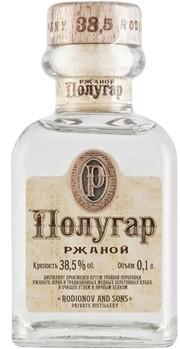 Полугар Ржаной 0,1л