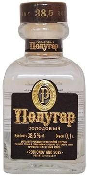 Полугар Солодовый 0,1л